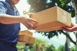 Abgabe für Onlinepakete